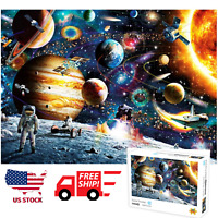 Space Puzzle 1000 Piece Jigsaw Puzzle Kids Adult Planets in Space Puzzle US