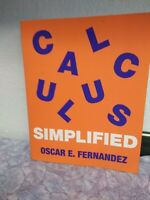 Calculus Simplified (Paperback or Softback)