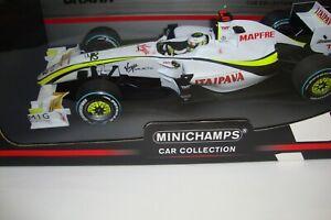 1:18 MINICHAMPS JENSON BUTTON BRAWN GP BGP 001 BRAZIL GP 2009