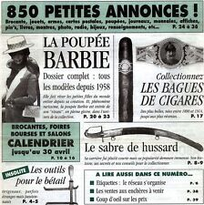 Barbie,Sabre de hussard,Bagues de cigares,Pathé, Bétail