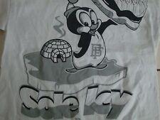 Bobby Fresh Sole Key Penguin Basketball Sneaker Athletic T Shirt Men's Size M