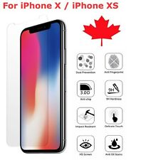 Premium Tempered Glass Screen Protector for Apple iPhone X XS