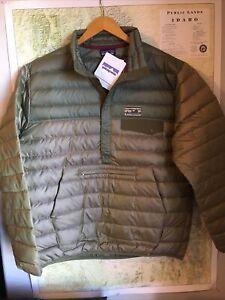 Patagonia M's L Ash Tan Down Snap -T P/O FA15 Sold Out
