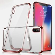 Housse Etui Coque Bumper Antichocs Case Cover Apple iPhone X (10) rose gold