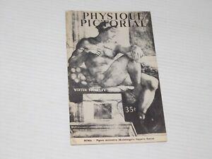 VINTAGE WINTER 1954 PHYSIQUE PICTORIAL MALE BODY ART BODYBUILDING MAGAZINE