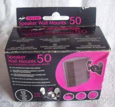 AVF Vector 50 Speaker Wall Mounts for speakers upto 5kg, hifi/home audio systems