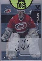 Arturs Irbe 2002 ITG Signature Series On Card Auto Carolina Hurricanes Vault