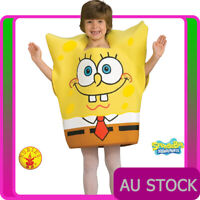 Deluxe Kids SpongeBob Costume SquarePants Foam Tunic Boys Girls Book Week