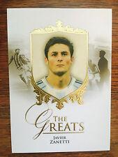 2016 Unique Futera Greats Soccer Card - Argentina ZANETTI Mint