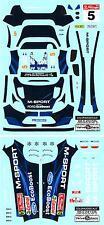 Colorado Decals 1/24 FORD FIESTA RS WRC #5 HIRVONEN PORTUGAL 2014