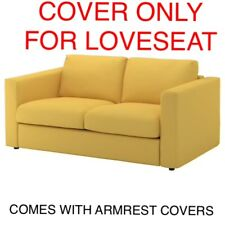 Ikea VIMLE COVER SlipCover FOR LOVESEAT W/ ARMRESTS COVERS ORRSTA GOLDEN YELLOW