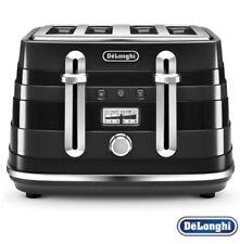 DELONGHI Avvolta CTA4003.B 4-Slice Toaster - Black