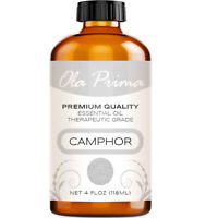 Camphor Essential Oil - Multiple Sizes - 100% Pure - Amber Bottle