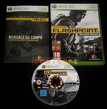 OPERATION FLASHPOINT DRAGON RISING XBOX 360 Versione Italiana ••••• COMPLETO