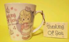 Precious Moments Mug Happy Birthday Gift Thinking Of You 2004 Nwt Enesco