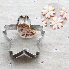 stainless steel cherry blossom cake cookie cutter mold biscuit mold bakingtools!
