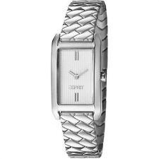 SALE Esprit Damenuhr Armbanduhr Weaves Silver Watch ES106032006