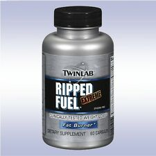 TWINLAB RIPPED FUEL EXTREME (60 CAPSULES) twin lab weight loss fat burner diet