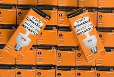 PureSpectrum Fully Dimmable Compact Fluorescent CFL 30 Pack 75 Watt Replacement