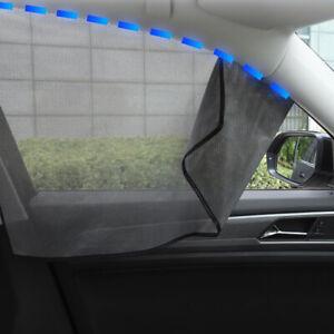 Universal Magnetic Car Auto Window Sun Shade Screen Mesh Curtain Sunshade Cover