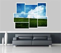 Huge Collage View Fantasy Pastures Wall Stickers Mural Decal Wallpaper 68