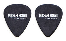 Michael Franti & Spearhead Black Guitar Pick - 2013 Tour