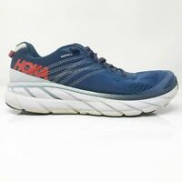 Hoka One One Mens Clifton 6 1102872 EBPA Blue Running Shoes Lace Up Size 8.5