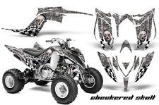 ATV Graphics Kit Decal Sticker Wrap For Yamaha Raptor 700R 2013-2018 CHECKER S S