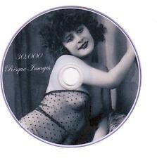 30,000 Vintage Vittoriano Risque, Burlesque cartolina foto nuda su DVD