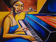 NINA SIMONE PRINT poster jazz anthology cd live at newport I put a spell on you