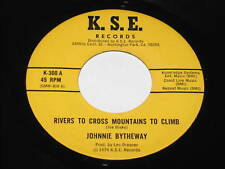 "Johnnie Bytheway 7"" 45 Rivers To Cross COUNTRY HEAR"