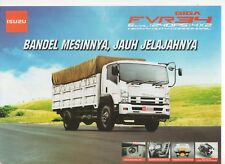 Isuzu Giga FVR 34 Cargo truck (made in Indonesia) _2018 Prospekt / Brochure