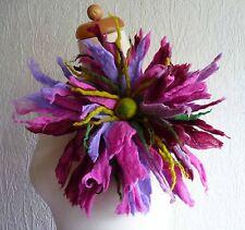 felted flower brooch,corsage,pin, merino wool,handmade,lagenlook, accessories