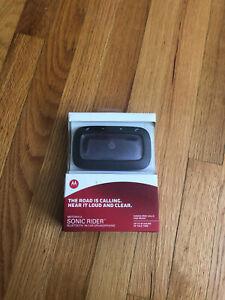 Motorola Sonic Rider Bluetooth In-Car Speakerphone TX550 MBTTX550HF-NEW IN BOX