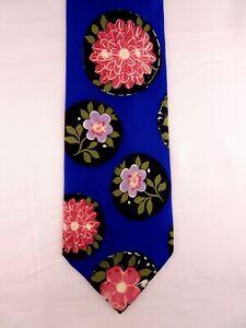 Krawatte von DOLCE & GABBANA D&G, Grundfarbe Blau, 100% Seide, Made in Italy
