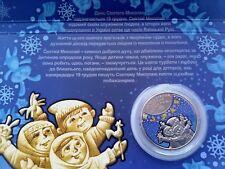 Ukraine  2016 5 HRYVNIAS St. Nicholas's Day nickel coin in Booklet