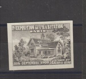 French Poster Stamp Homes 1908