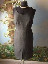 Ann Taylor Petites Women's Black & White Sleeveless Dress Size 10P New