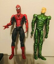 """Marvel Legends Spiderman 2 Movie Poseable + Geen Goblin 6"""" Action 2003 Vaulted!"""
