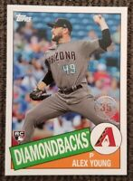2020 Topps Series 1 Arizona Diamondbacks Rookie  Alex Young RC #85C-23