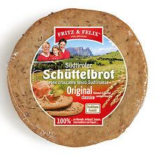 Bauern Schüttelbrot mit Kümmel + Fenchel Krt. 20 x 150 gr. - Fritz & Felix