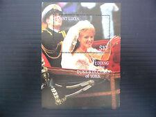 St LUCIA Wholesale 1986 RARE Unissued Royal Wedding M/Sheet x 25 U/M FP1206