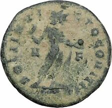 Constantine I The Great Ancient Roman Coin Sol Sun standing right RARE   i47043