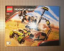 LEGO RACERS - 8496 - INSTRUCTION MANUAL - BOOK 2 ONLY