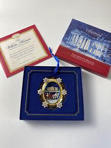2004 White House Historical Association Christmas Ornament with original box