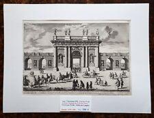 XVII ème - Dépt 94 - Belle Gravure L'Arc ou Portique de Vincennes PL 60 - 1670