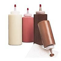 Wilton 12oz Regular Decorating Squeeze Bottle for Candy Melts Chocolate Sauce x1