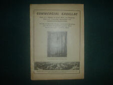COMMERCIAL CADILLAC (MICHIGAN) SUPPLEMENT TO 1907 AMERICAN LUMBERMAN 34 PAGES