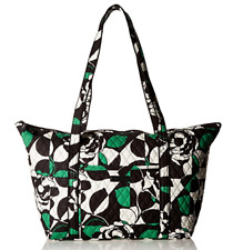 Vera Bradley Extra Large Miller Travel Bag Tote Carry On Imperial Rose New NWT