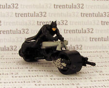 BAT-POD Batman MOTORCYCLE Batcycle w Rider HOT WHEELS LOOSE